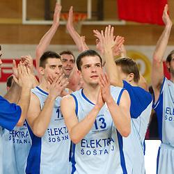 20110210: SLO, Basketball - Spar Cup, Quarterfinals, KK Elektra Sostanj vs Hopsi Polzela