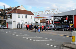 Ashton Gate. - Photo mandatory by-line: Nizaam Jones - Mobile: 07583 387221 - 01/11/2014 - SPORT - Football - Bristol - Ashton Gate - Bristol City v Oldham- Sport