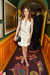 ROSIE FORTESCUE at the 2nd Bright Young Things Back In London party held at Annabel's, 44 Berkeley Square, London on 11th February 2016.