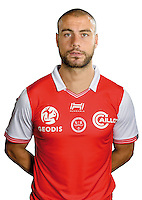 Jaba Kankava of Reims during the photocall of Reims for new season of Ligue 2 on September 29th 2016 in Reims<br /> Photo : Stade de Reims / Icon Sport