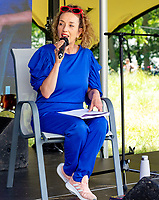 Juliet Russell at the Also Festival 2021 at Cpmton Verney,photo by Mark Anton Smith<br /> .