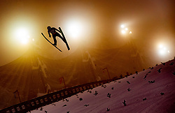 Kamil Stoch (POL) // Kamil Stoch of Poland  flying in the air during Trial Round at Day 1 of FIS Ski World Flying Championship Planica 2020, on December 10, 2020 in Planica, Kranjska Gora, Slovenia. Photo by Vid Ponikvar / Sportida