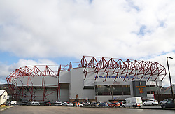 A general view of the Northern Commercials Stadium at Valley Parade home of Bradford City - Mandatory by-line: Joe Dent/JMP - 09/03/2019 - FOOTBALL - Northern Commercials Stadium - Bradford, England - Bradford City v Peterborough United - Sky Bet League One