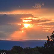 Spectacular Lake Michigan Sunset