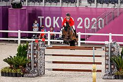 Guerdat Steve, SUI, Venard De Cerisy, 383<br /> Olympic Games Tokyo 2021<br /> © Hippo Foto - Stefan Lafrentz<br /> 07/08/2021