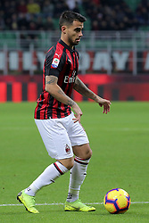 December 9, 2018 - Milan, Milan, Italy - Suso #8 of AC Milan in action during the serie A match between AC Milan and Torino FC at Stadio Giuseppe Meazza on December 09, 2018 in Milan, Italy. (Credit Image: © Giuseppe Cottini/NurPhoto via ZUMA Press)