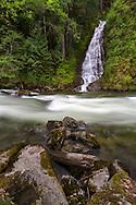 Eureka Falls and Silverhope Creek near Hope, British Columbia, Canada