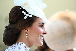 The Duchess of Camberidge during day one of Royal Ascot at Ascot Racecourse.