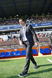 September 23, 2017 - Montpellier, France - Unai Emery, entraineur PSG (Credit Image: © Panoramic via ZUMA Press)