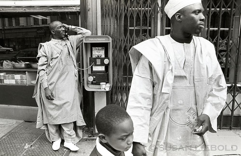 Dressed to celebrate Eid, Harlem.