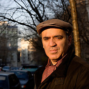 Portrait of former world chess champion Garry Kasparov on a street near his home in Moscow. Since retirement from chess in 2005, Kasparov has turn to politics and became one of the strongest critics of Russian leader Vladimir Putin. Picture by Justin Jin.