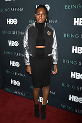 """Venus Williams attends the HBO premiere of """"Being Serena"""" at the Time Warner Center in New York."""