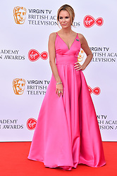 Amanda Holden attending the Virgin TV British Academy Television Awards 2018 held at the Royal Festival Hall, Southbank Centre, London.
