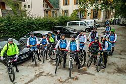 13-09-2017 FRA: BvdGF Tour du Mont Blanc day 4, Trient<br /> Van Chamonix naar Trient. <br /> Team yellow