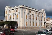 Palacio de la Asamblea architect Enrique Nieto, Plaza de España, Melilla, Spain, north Africa rear view