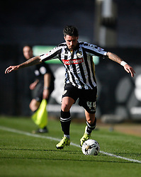 Alan Sheehan of Notts County in action - Mandatory byline: Jack Phillips / JMP - 07966386802 - 11/10/2015 - FOOTBALL - Meadow Lane - Nottingham, Nottinghamshire - Notts County v Plymouth Argyle - Sky Bet Championship
