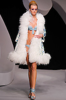 Caroline Trentini walks the runway  at the Christian Dior Cruise Collection 2008 Fashion Show