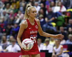 January 19, 2019 - London, England, United Kingdom - Helen Housby of England Roses.During Netball Quad Series Vitality Netball International match between England and South Afr at Copper Box Arena on January 19, 2019 in London, England. (Credit Image: © Action Foto Sport/NurPhoto via ZUMA Press)