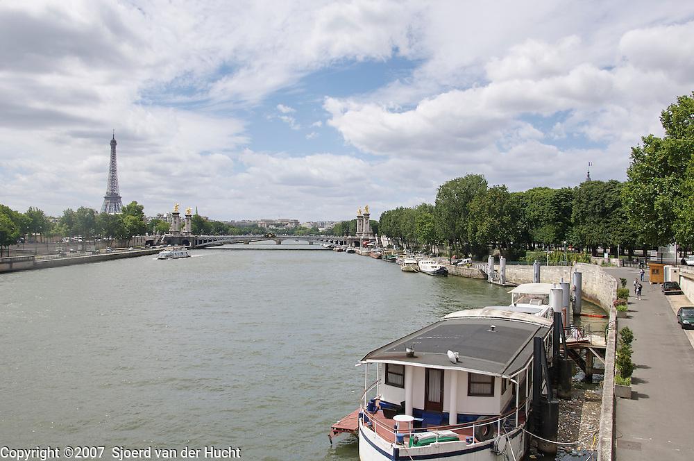 Along the Seine,Paris, France