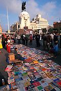 PERU, LIMA, CENTRAL CITY Plaza San Martin, hub of activity