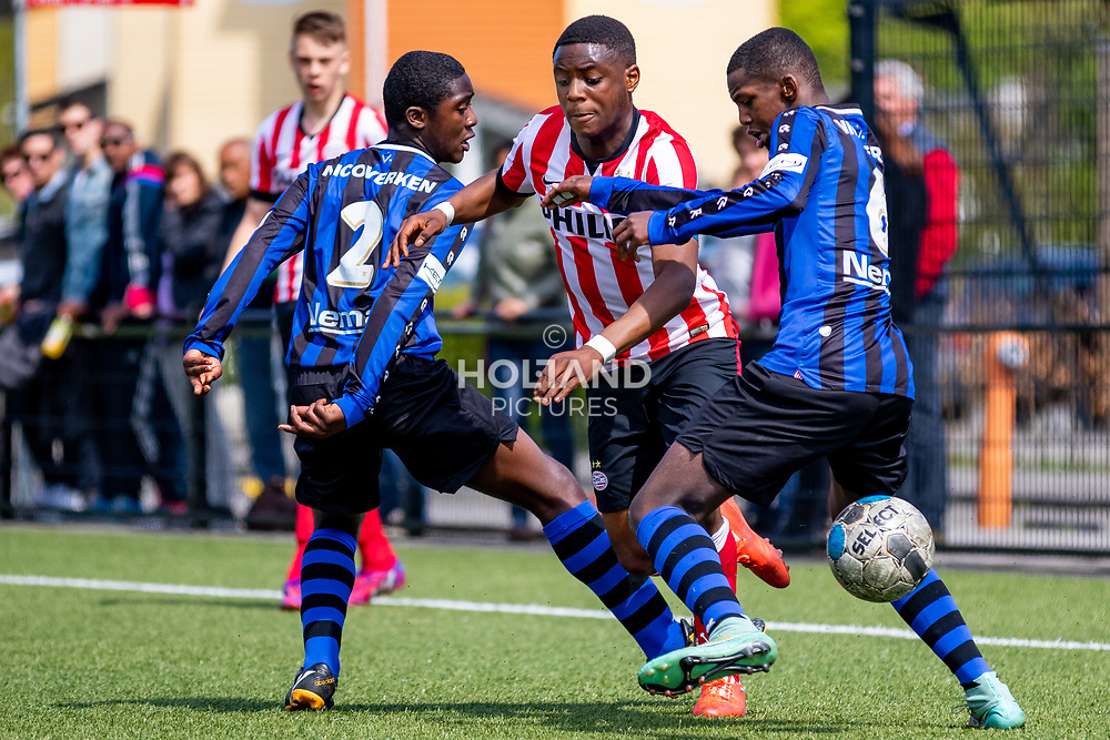 15-05-2015: Soccer: Sparta Rotterdam U16 v PSV U16: Rotterdam<br /> #6 Leandro Fernandes (PSV)