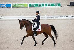 Christian Schumach, (AUT), Auheim's Picardo - Grand Prix Team Competition Dressage - Alltech FEI World Equestrian Games™ 2014 - Normandy, France.<br /> © Hippo Foto Team - Leanjo de Koster<br /> 25/06/14
