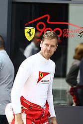 21.08.2015, Circuit de Spa, Francorchamps, BEL, FIA, Formel 1, Grand Prix von Belgien, Qualifying, im Bild Sebastian Vettel (Scuderia Ferrari) // during the Qualifying of Belgian Formula One Grand Prix at the Circuit de Spa in Francorchamps, Belgium on 2015/08/21. EXPA Pictures © 2015, PhotoCredit: EXPA/ Eibner-Pressefoto/ Bermel<br /> <br /> *****ATTENTION - OUT of GER*****