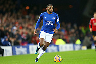 Cuco Martina of Everton in action. Premier league match, Everton v Manchester Utd at Goodison Park in Liverpool, Merseyside on New Years Day, Monday 1st January 2018.<br /> pic by Chris Stading, Andrew Orchard sports photography.