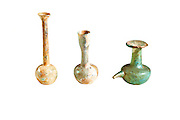 Roman glass bottles 2-4th century CE