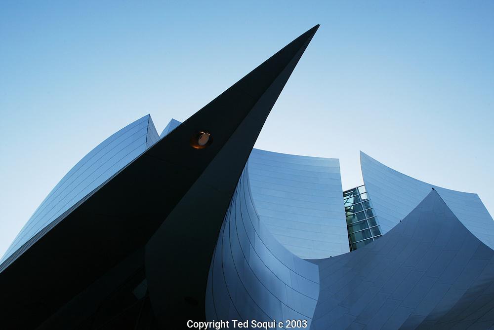 Walt Disney Concert Hall exterior downtown L.A