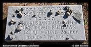 Rocks on Jewish Grave<br /> Bonaventure Cemetary<br /> Savannah, GA - Oct 2011