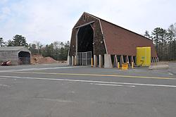 Pre-Construction Views. CT-DOT East Granby Salt Shed Rehabilitation Project. No. 039-097