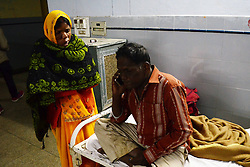 November 20, 2016 - Kanpur: People injured in train accident being treated at a hospital in Kanpur Dehat on 20-11-2016. photo by prabhat kumar verma (Credit Image: © Prabhat Kumar Verma via ZUMA Wire)
