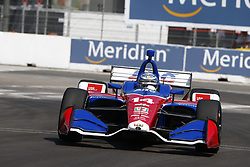 July 13, 2018 - Toronto, Ontario, Canada - TONY KANAAN (14) of Brazil takes to the track to practice for the Honda Indy Toronto at Streets of Exhibition Place in Toronto, Ontario. (Credit Image: © Justin R. Noe Asp Inc/ASP via ZUMA Wire)