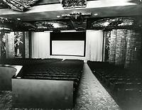 1955 Grauman's Chinese Theater interior