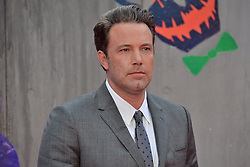 © Licensed to London News Pictures. 03/08/2016. BEN AFFLECK attends the Suicide Squad UK Film Premiere<br /> <br /> <br /> London, UK. Photo credit: Ray Tang/LNP