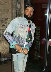 February 18, 2019 - London, United Kingdom - Odell Beckham Jr attends the Fabulous Fund Fair as part of London Fashion Week event. (Credit Image: © Brett Cove/SOPA Images via ZUMA Wire)