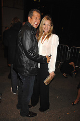 KATE MOSS and MARIO TESTINO at a party to celebryate the launch of the Spring Summer 2008 adidas collection by Stella McCartney held at the Westway Sports Centre, off Latimer Road, London W10 on 20th September 2007.<br /><br />NON EXCLUSIVE - WORLD RIGHTS