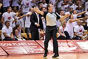 DESCRIZIONE : Campionato 2014/15 Serie A Beko Grissin Bon Reggio Emilia - Dinamo Banco di Sardegna Sassari Finale Playoff Gara7 Scudetto<br /> GIOCATORE : Dino Seghetti<br /> CATEGORIA : Arbitro Referee Fallo Sfondamento<br /> SQUADRA : AIAP<br /> EVENTO : LegaBasket Serie A Beko 2014/2015<br /> GARA : Grissin Bon Reggio Emilia - Dinamo Banco di Sardegna Sassari Finale Playoff Gara7 Scudetto<br /> DATA : 26/06/2015<br /> SPORT : Pallacanestro <br /> AUTORE : Agenzia Ciamillo-Castoria/L.Canu
