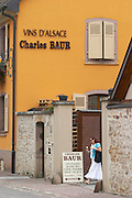 winery wine shop charles baur eguisheim alsace france