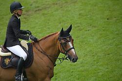 Alexander Edwina (AUS) - Itot du Chateau<br /> World Equestrian Festival, CHIO Aachen 2011<br /> © Dirk Caremans
