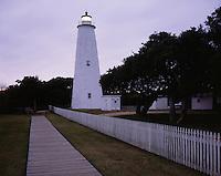 AA03274-01...NORTH CAROLINA - Ocracoke Lighthouse on Ocracoke Island on the Outer Banks.