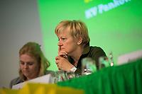 DEU, Deutschland, Germany, Berlin, 21.04.2018: Renate Künast (B90/Die Grünen) bei der Landesdelegiertenkonferenz von Bündnis 90/Die Grünen in Berlin-Adlershof.
