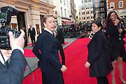 FREDDIE FOX, Olivier Awards 2012, Royal Opera House, Covent Garde. London.  15 April 2012.