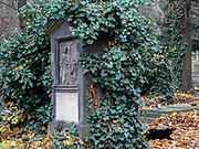 Olšany cemetery in Prague.