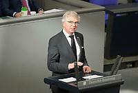 DEU, Deutschland, Germany, Berlin, 25.02.2021: Prof. Dr. Andrew Ullmann (FDP) in der Plenarsitzung im Deutschen Bundestag.