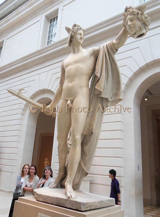 Perseus with the Head of Medusa By Antonio Canova (Italian, Possagno 1757–1822 Venice) Italian between 1804–06 Marble