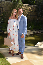Brendan Cole and his wife Zoe at the RHS Chelsea Flower Show Press Day, Royal Hospital Chelsea, London England. 22 May 2017.<br /> Photo by Dominic O'Neill/SilverHub 0203 174 1069 sales@silverhubmedia.com