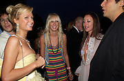 Paris Latsis,  Paris Hilton, Kimberley Stewart and Tamara Mellon. The Serpentine Summer party co-hosted by Jimmy Choo. The Serpentine Gallery. 30 June 2005. ONE TIME USE ONLY - DO NOT ARCHIVE  © Copyright Photograph by Dafydd Jones 66 Stockwell Park Rd. London SW9 0DA Tel 020 7733 0108 www.dafjones.com