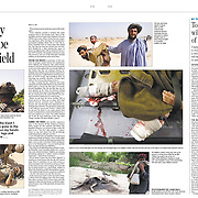 Spread in The Toronto Star from 2010 pre-surge coverage of Kandahar.